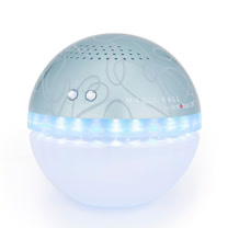 antibac2K 安體百克空氣洗淨機【Magic Ball。彩繪版 / 藍色】QS-1A6