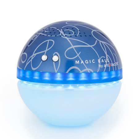 antibac2K 安體百克空氣洗淨機【Magic Ball。彩繪版 / 海軍藍】QS-1A8