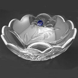 日本SOGA玻璃百合花中沙拉缽(A1866W)