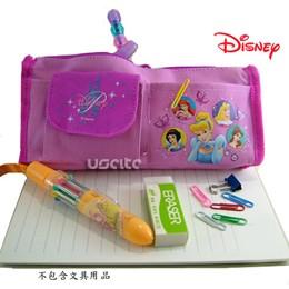 Disney迪士尼白雪公主筆袋化妝包-粉紅色