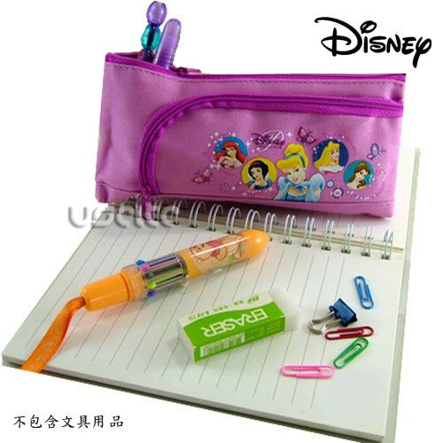 Disney迪士尼白雪公編緝袋化妝包-粉紅色