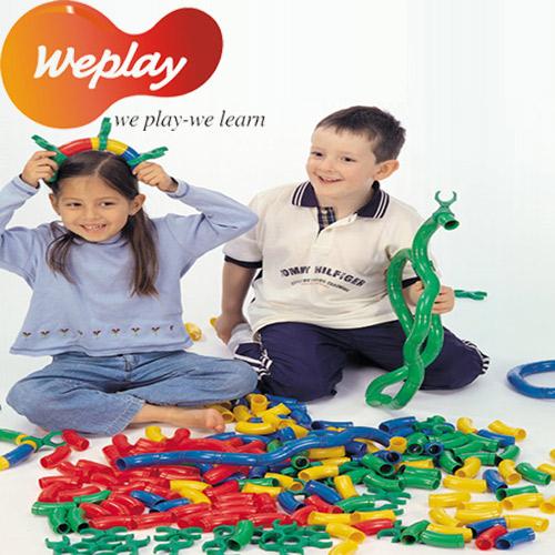 Weplay身體潛能開發【創作互動】創意接龍(80個+10個棒夾)