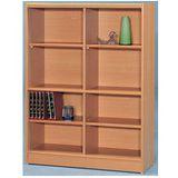 書櫃(A-07-8格空櫃)免組裝