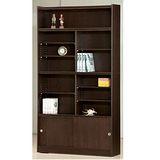 STYLEHOUSE書櫃(F47- 12格書櫃含拉門、玻璃門)免組裝傢俱