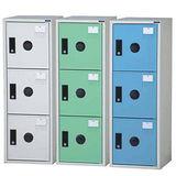 KDF-205T(40-2) 鋼製組合式置物櫃三色