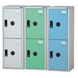 KDF-207T(41-2) 鋼製組合式置物櫃三色