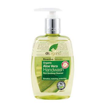 [任選]Dr.Organic丹霓珂 蘆薈潤潔洗手乳