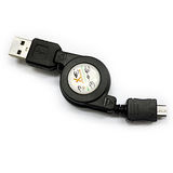 Micro USB 伸縮充電線 適用各廠牌Micro USB(EX:HTC SonyEricsson SAMSUNG NOKIA)充電接頭