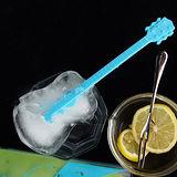 夏日消暑吉他造型三格冰塊模