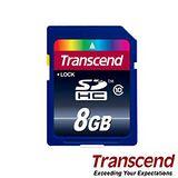 Transcend 創見 8G SDHC Class10 卡 (20MB/S)