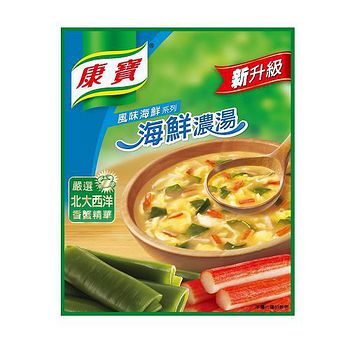 康寶新升級-海鮮濃湯43.5g*2入