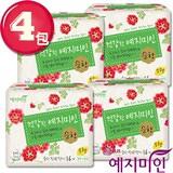 4件組_【禮知美人】Mild純棉漢方衛生棉-日用16片