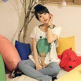 【韓系女衫】韓版新款寬鬆長款T送吊帶背心