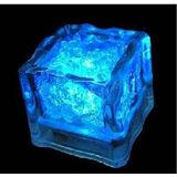 LED水浸式藍閃光冰塊造型電子裝飾燈