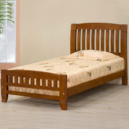 《Homelike》亞倫3.5尺單人實木床架
