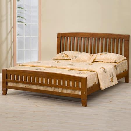 《Homelike》亞倫5尺雙人實木床架