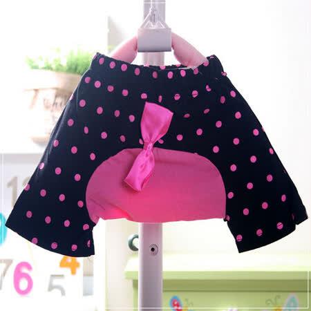 (購物車)魔法Baby ~小喇叭蝴蝶結短褲(黑)~時尚設計童裝~k19896