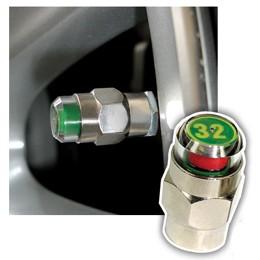 【安伯特】胎壓偵測氣嘴蓋(一組2入)-32psi