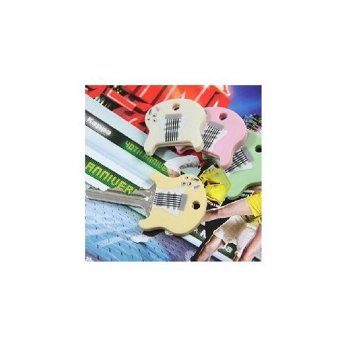 吉他 矽膠 鑰匙套