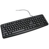 黑魔俠輕巧簡約標準USB鍵盤(PD-KB116)