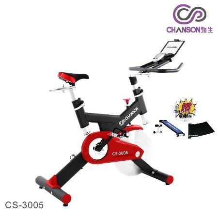 【強生Chanson】飛輪競速健身車CS-3005