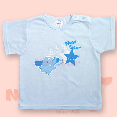 【聖哥-明日之星】薄-幼兒短袖內衣(吸溼排汗、肩扣)