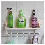 單層衛浴吸盤吸牆置物架
