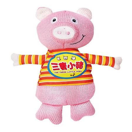 三隻小豬-我的動物玩偶故事書