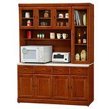 【日式量販】原味主義5.3尺實木餐櫃/收納櫃