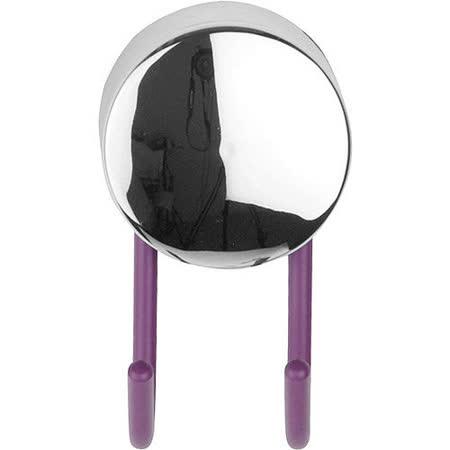 《GALZONE》Hook 極簡壁掛雙掛勾(紫)