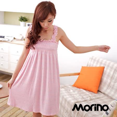 【MORINO】柔絲浴裙