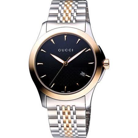 【好物推薦】gohappy 線上快樂購GUCCI G-Timeless 古馳菱格紋時尚腕錶(YA126410)-半金/38mm效果好嗎遠東 週年 慶