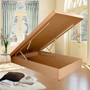 【優利亞-空間美學】後掀式床架-單人3.5尺(4色可選)