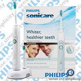 PHILIPS 飛利浦 Sonicare Healthy White 音波震動牙刷 HX6711 (加贈專用刷頭3入)