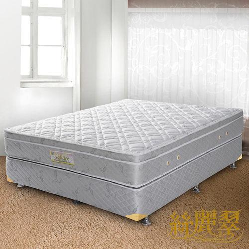 【絲麗翠-3線米蘭】雙人加硬式彈簧床墊