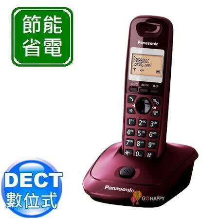 Panasonic ECO DECT 節能數位無線電話 KX-TG2511 (迷戀紅)