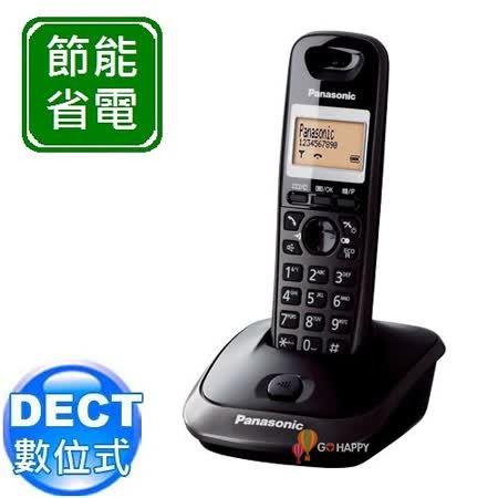 Panasonic ECO DECT 數位節能無線電話 KX-TG2511 (鈦金黑)