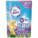 熊寶貝衣物柔軟精-舒恬薰衣草香補充包1.84L