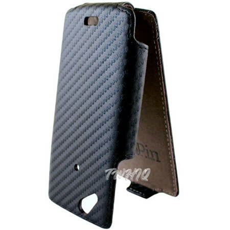 Sony Ericsson Xperia arc S /LT18i 動感卡夢紋 下掀式/掀蓋式 手機皮套