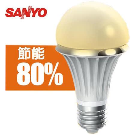 SANYO LED 7W 節能燈泡_黃光