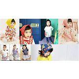 【PS Mall】熱賣日韓人頭寶寶三角巾 圍巾_2條(B002)