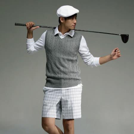 【EverSmile】時尚高爾夫男款短褲