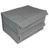 TV熱銷收納高手竹炭20格加蓋衣物收納盒超值2入(3193)
