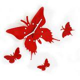 時尚簡約 蝴蝶造型掛鐘