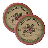 (超值二入) 美國Rosebud花蕾潤脣膏-摩卡玫瑰