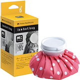muva冰熱敷雙效水袋-紅圓點-6吋