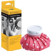 muva冰熱敷雙效水袋-紅圓點-9吋