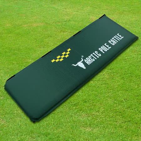 APC《五顆星》特厚自動充氣睡墊-厚8CM-軍綠