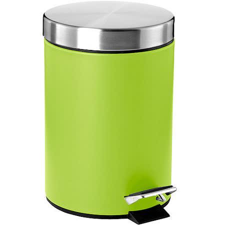 《ZONE》Pedal 雙色腳踏垃圾桶(綠)