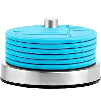 《ZONE》Coasters 原色杯墊6入組(藍)